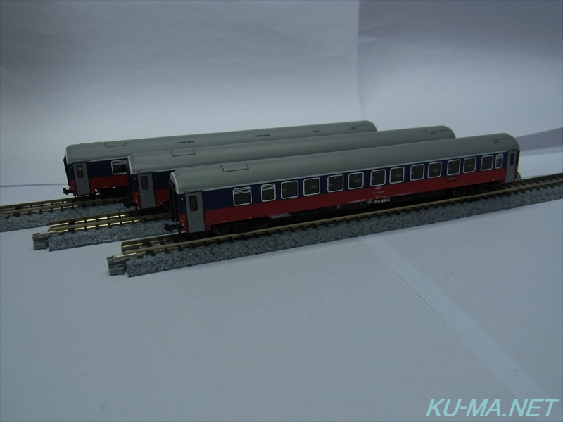 Photo of L.S.Models Russian Railways Moscow-Berlin 3-cars set 78026