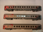 Photo of L.S.Models Russian Railways Moscow-Berlin 3-sleeping car set 78027 Thumbnail