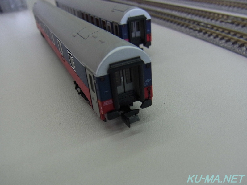 Model railroad photo of RZD gable