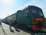 Photo of Elektrichka ЭД4М(ED4M) in  Novosibirsk Station Thumbnail