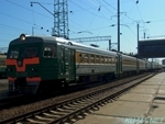 Photo of Elektrichka ЭТ2(ET2) in Novosibirsk Station Thumbnail