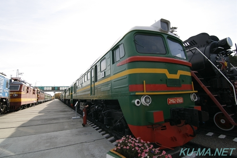 Photo of USSR diesel locomotive 2М62-0500