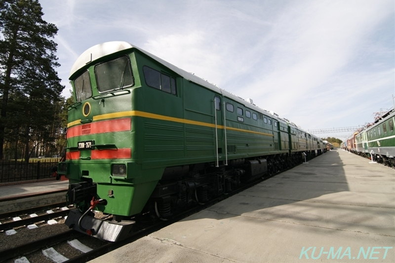 Photo of USSR diesel locomotive 2ТЭ10м(2TE10m)