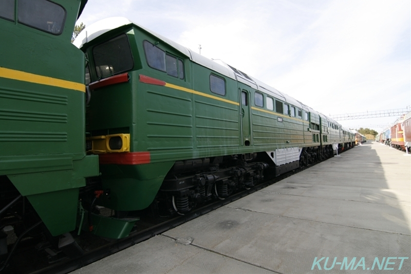 Photo of USSR diesel locomotive 2ТЭ116(2TE116)