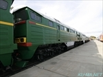 Photo of USSR diesel locomotive 2ТЭ116(2TE116) Thumbnail