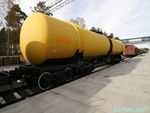 Photo of Russian 8 axles big tank car Thumbnail