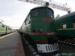 Photo of USSR diesel locomotive ТЭ3(TE3)-7376 Thumbnail