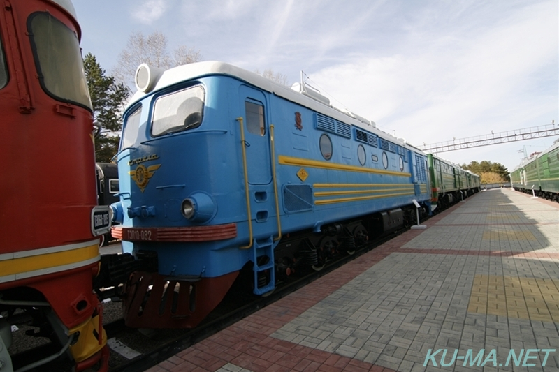 Photo of Russian diesel locomotive ТЭП10(TEP10)-082