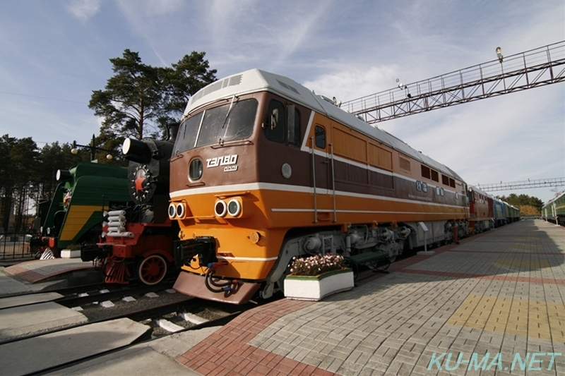 Photo of Russian diesel locomotive ТЭП80(TEP80)-0001