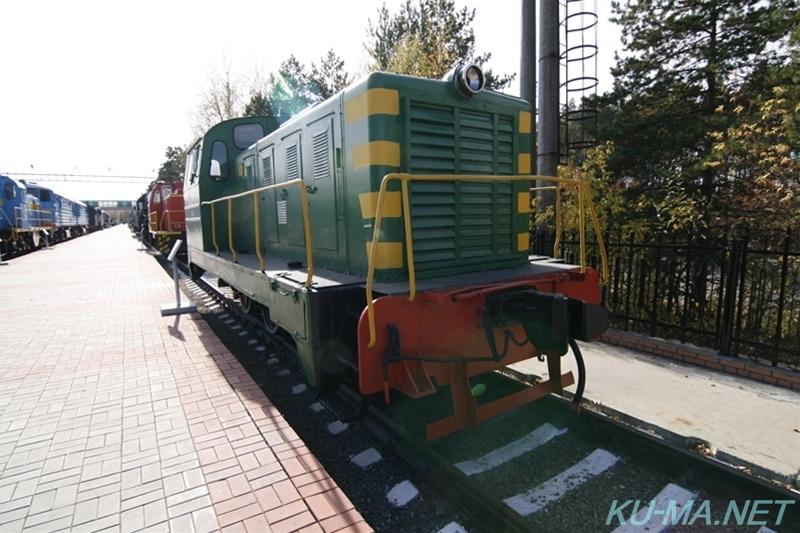 ロシアディーゼル機関車ТГМ1-292...