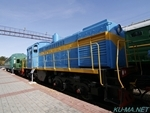 Photo of Russian diesel locomotive ТГМ4-1676(TGM4-1676) Thumbnail