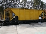 Photo of Russian 4 axles hopper car for crushed stone Thumbnail