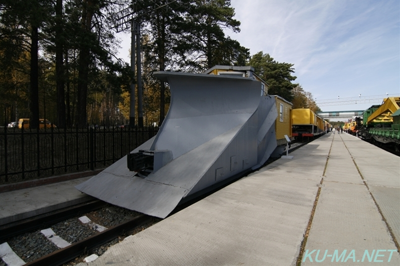 Photo of snowplow train Таран(Taran)