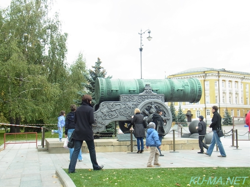 Photo of The Tsar Cannon had been seen