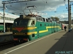 Photo of SIBERIYAK and Electric Locomotive(ЧС7) ChS7 Thumbnail