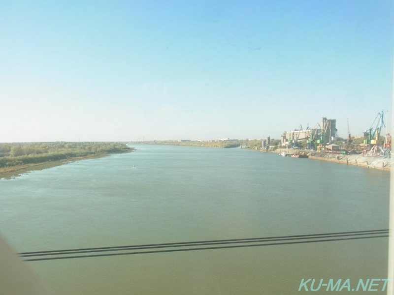 Photo of Irtysh River as seen from the window