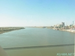 Photo of Irtysh River as seen from the window Thumbnail