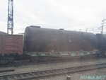Photo of Trans-Siberian railway tank cars were tied the tank with ropes Thumbnail